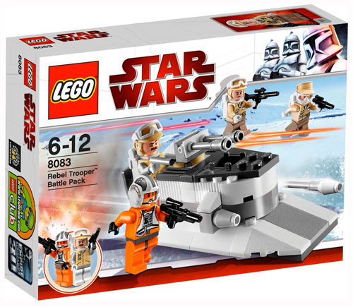 LEGO® Star Wars 8083 Rebel Trooper Battle Pack