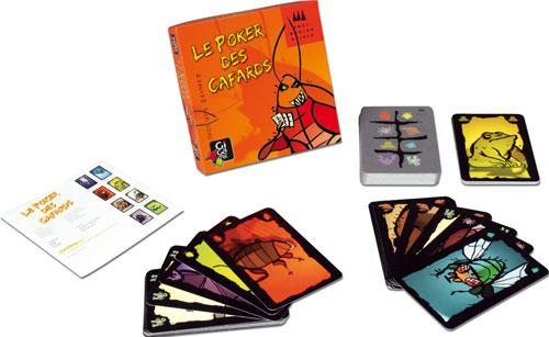 Les cartes représentent différentes sortes de bestioles très sympathiques (chauve-souris, cafard, crapaud, scorpion...). Un des joueur pose une carte devant lui face cachée et annonce un animal, à un joueur qui va alors devoir décider s´il pense que le jo