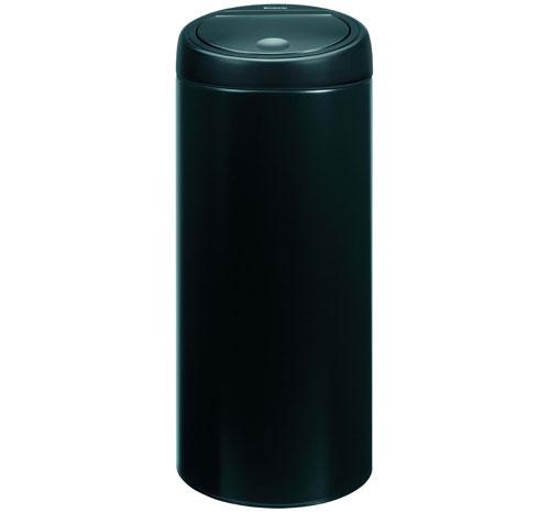 brabantia- bra391743 - poubelle touch bin 30 litres – matt black