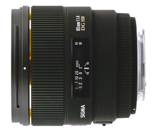 Objectif reflex Sigma DG EX 85 mm f14 HSM Monture Nikon