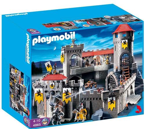 Playmobil 4865 Château Fort Des Chevaliers Du Lion Playmobil