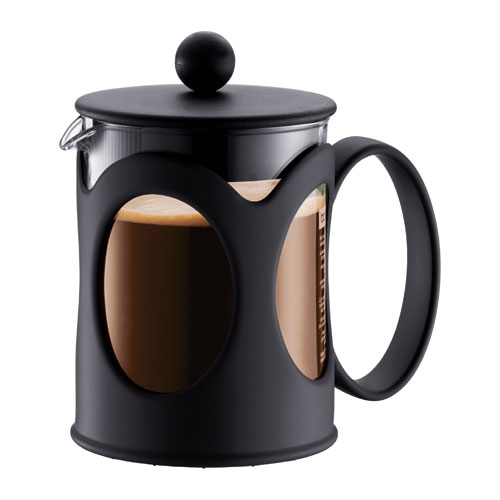 Bodum Kenya 10683-01 Cafetière à Piston 0,5 L Noir