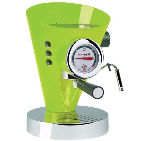 Machine à Café Espresso Bugatti Diva Vert