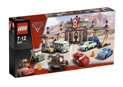 Lego® 8487 V8 Cars Le Café 2 Flo De RL5j34A