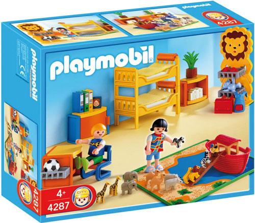 Playmobil 4287 : Chambre des enfants Playmobil - Playmobil - Achat ...