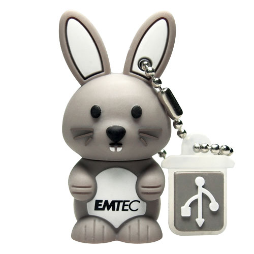 Extrêmement Emtec M321 Lapin 4 Go USB 2.0 - Clé USB - Achat & prix | fnac YG75