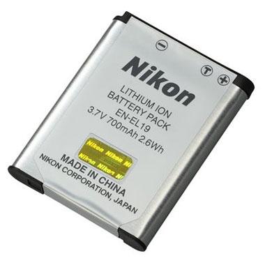 Nikon Batterie EN EL19 pour Nikon CoolPix A100 A300 S33 S3700 S6900