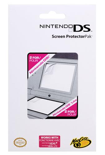 4 Protections écrans MadCatz pour DS Lite et DSi