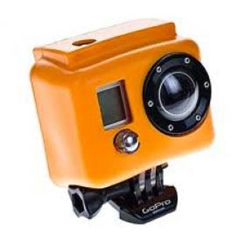 XSories Housse en Silicone Orange pour GoPro