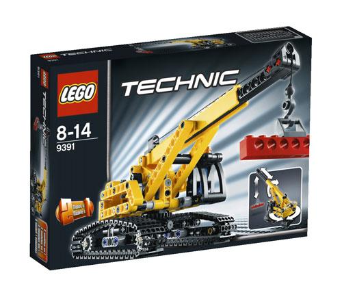 LEGO® Technic 9391 La grue sur chenille