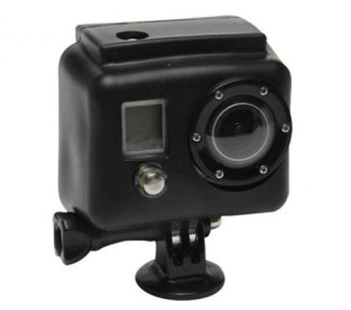 XSories Housse en Silicone Noir pour GoPro