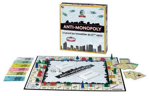 University Games AntiMonopoly Le jeu