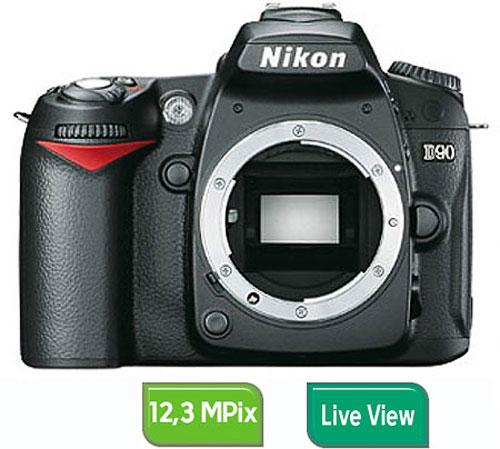 Nikon D90 Boîtier Nu
