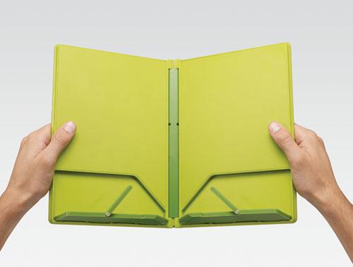 joseph joseph cookbook lutrin de cuisine pliable - vert - achat