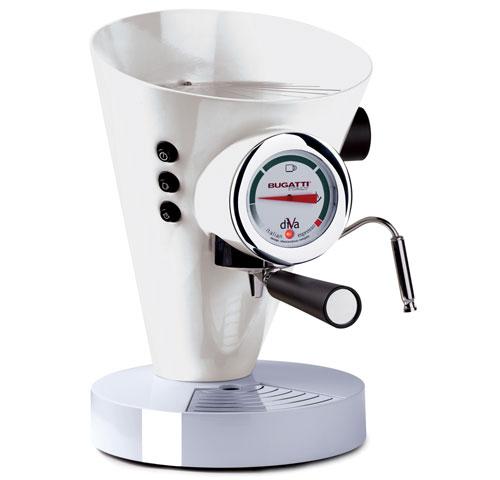 Machine à Café Espresso Bugatti Diva Blanc