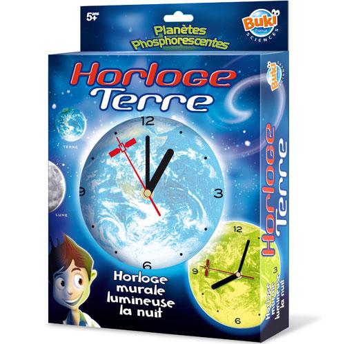 Buki Horloge Phsphorescente Terre