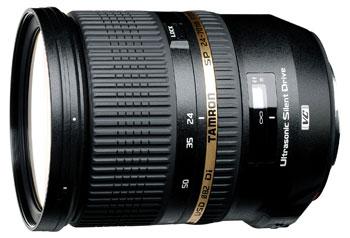 Objectif reflex Tamron 24 70mm 28 SP Di VC USD Monture Nikon
