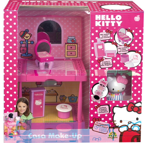 Giochi Preziosi Hello Kitty Maison Maquillage + 1 figurine Makeup Asst