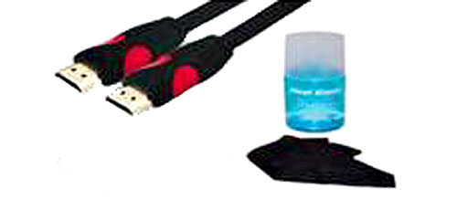 Real Cable HDMI pack + Kit de nettoyage