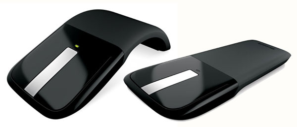 microsoft arc touch mouse souris sans fil noir souris achat prix fnac. Black Bedroom Furniture Sets. Home Design Ideas