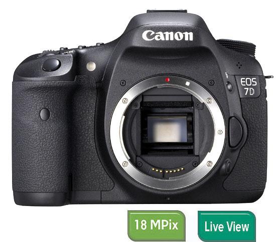 Reflex Canon EOS 7D Boîtier Nu