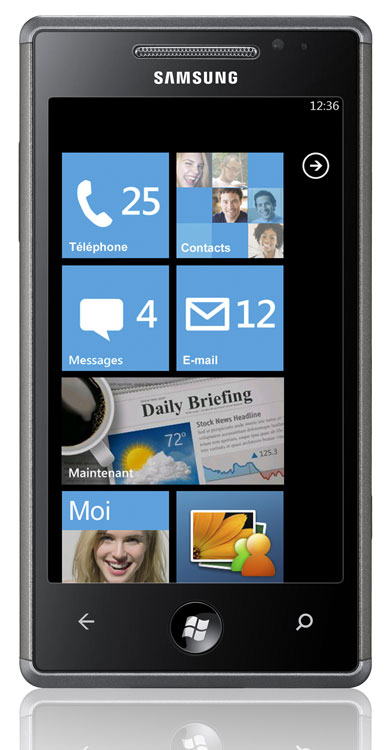 samsung omnia 7 sous windows phone 7 smartphone achat prix fnac. Black Bedroom Furniture Sets. Home Design Ideas