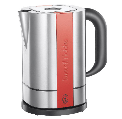 Russell Hobbs - 18501-70 - Steel Touch - Bouilloire - Gris/Rouge