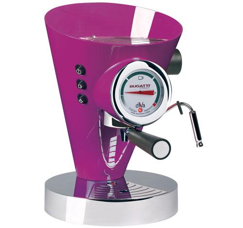 Machine à Café Espresso Bugatti Diva Lilas