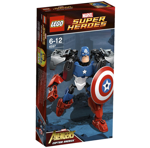 LEGO® Super Heroes Marvel 4597 Captain America