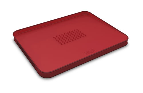 Planche à découper Joseph Joseph Cut & Carve Plus Large Rouge