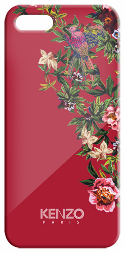 Kenzo Coque Exotic pour iPhone 5 - Rouge