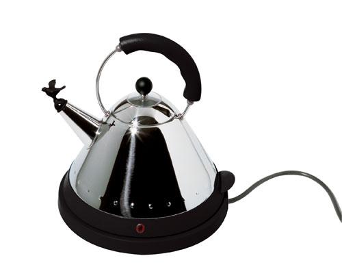 Alessi - MG32 B - Bouilloire électrique - Noire