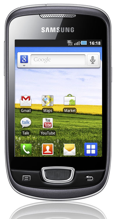 Samsung Galaxy Mini (sous Android)