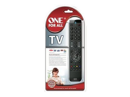 Télécommande Universelle One for All Essence URC7110 Noir