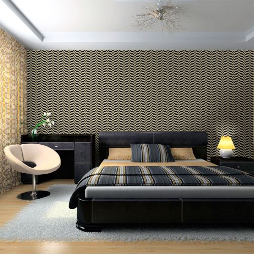 Papier peint - Intense illusory pattern - 350x270 - Fonds et