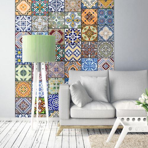 Papier peint - Mosaïque colorée - Décoration, image, art   Deko Panels   50x1000 cm  