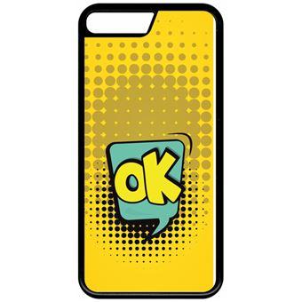 coque apple jaune iphone 8