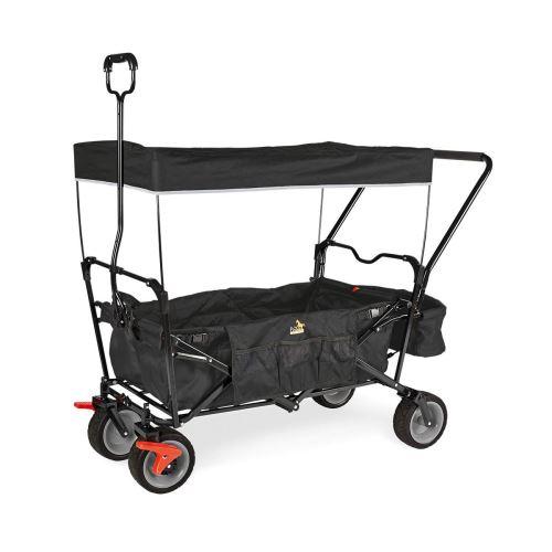 Wagon pliant Pinolino Paxi Dlx Comfort avec frein Noir