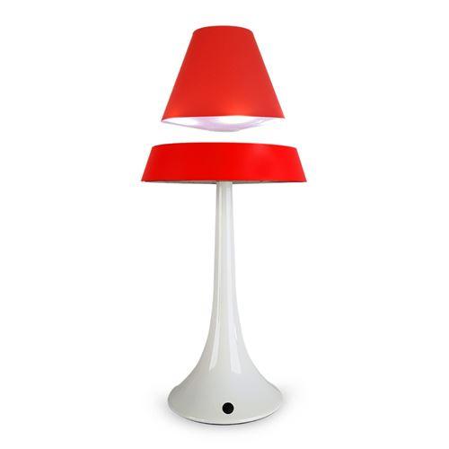 Lampe magnétique anti-gravité althuria pureline rouge - rouge