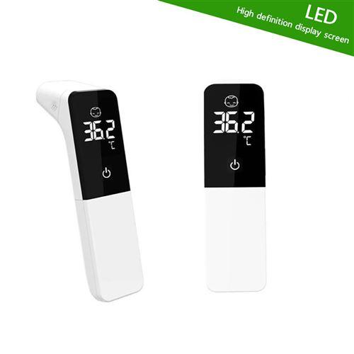Thermomètre Indicateur numérique de fièvre pour les enfants adultes et bébés - blanc