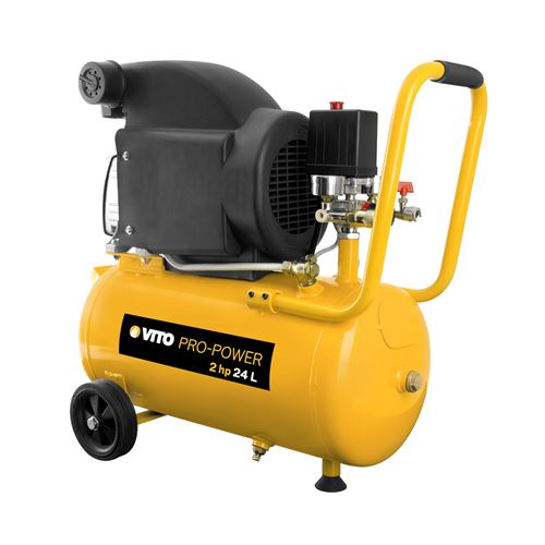 Compresseur à huile 2 cv / 230 V VITOPOWER 1500 W 24 litres