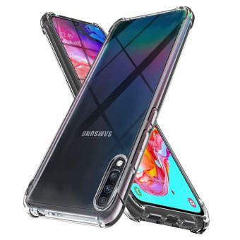 Coque Samsung Galaxy A20E Souple Transparente flexible Bumper en Gel TPU Silicone Invisible Antichoc avec bords renforcés - Accessoires Pochette Case