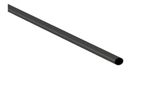 Gaine termoretractable 2:1 2.4mm noir 1m.