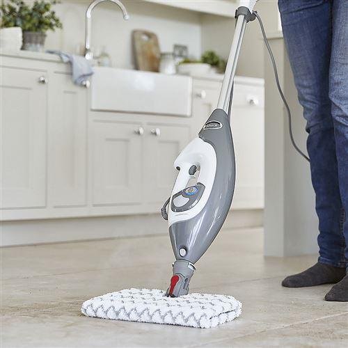Shark S6005UK Floor Mop /& Lift-Away Nettoyeur à vapeur portatif Gris /& Blanc-Neuf