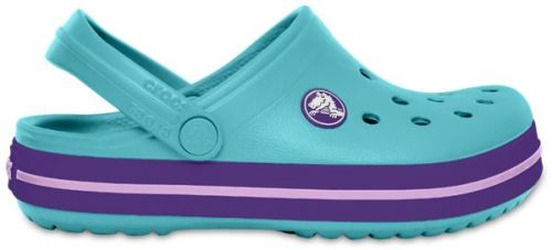 Crocs crocband enfants sabots <strong>chaussures</strong> sandales en ice bleu 204537 4o9