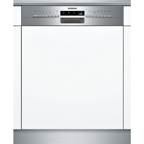 Siemens iQ300 SN536S03NE - Lave-vaisselle - intégrable - Niche - largeur : 60 cm - profondeur : 55 cm - hauteur : 81.5 cm - acier inoxydable