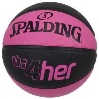f6d96aaae9c70 Ballon de basket Spalding Nba 4her t6 ballon Rose taille : UNI réf : 33724  - Ballons - Achat & prix | fnac