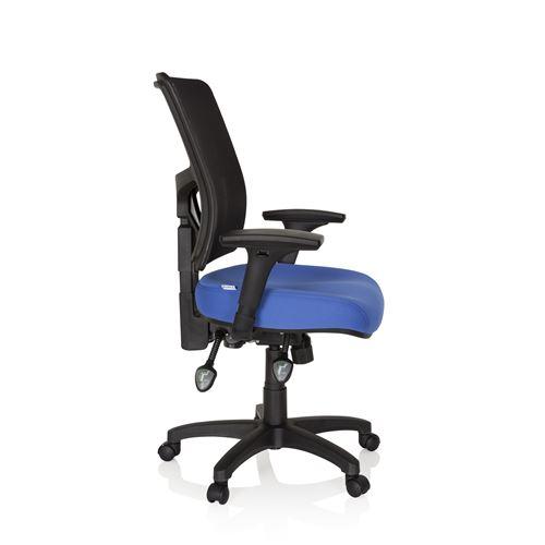bureau Chaise siège pivotant IMPACT PRO tissu OFFICE hjh bleu QtCshdr