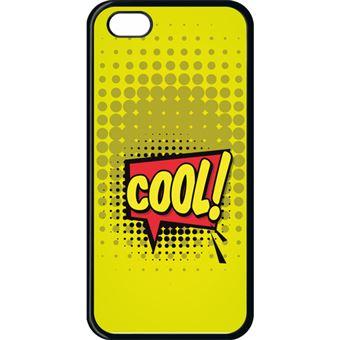 Coque Apple Iphone 5c Cool Fond Jaune