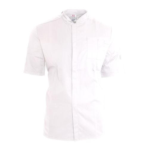 Le Chef - Veste de cuisinier ThermoCool - Unisexe (2XL) (Blanc/Noir) - UTPC2704